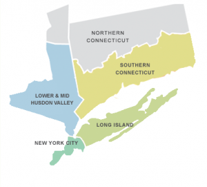 New CTNY map of service area